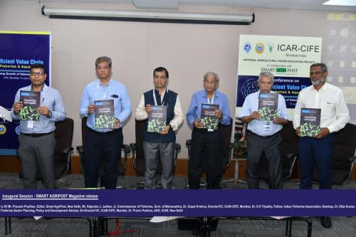 Magazine Release- Efficient Value Chain in Fisheries & Aquaculture, Mumbai